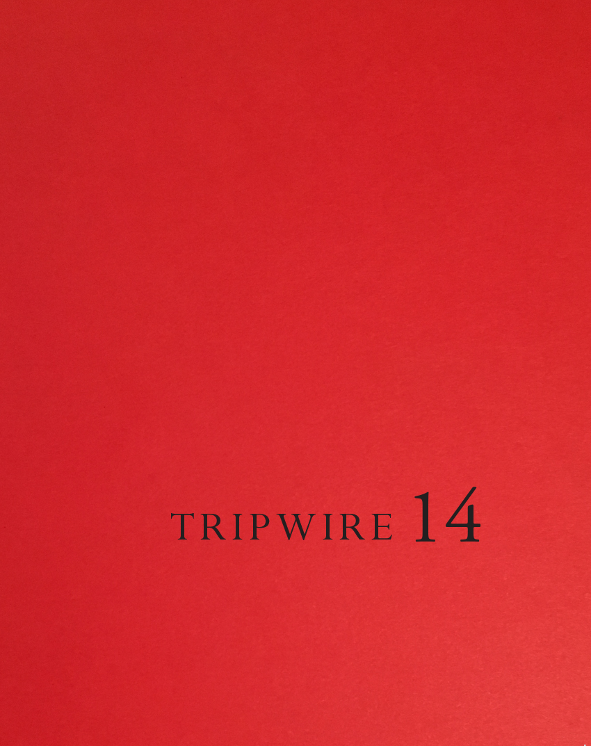 TRIPWIRE 14: THE RED ISSUE