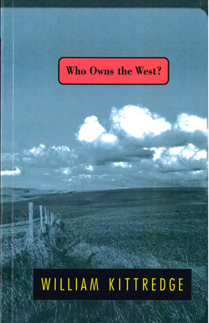 Who Owns the West?