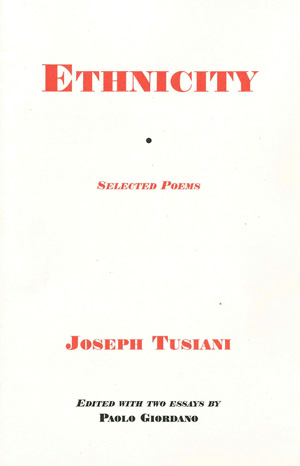 Ethnicity: Selected Poems