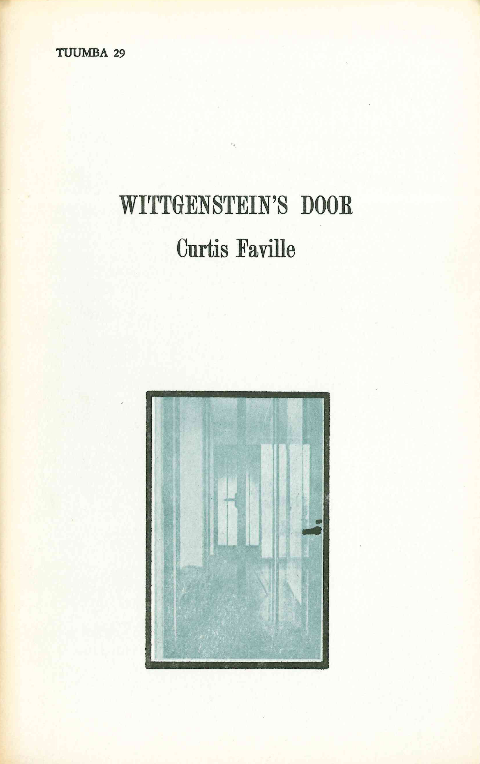 Wittgenstein's Door
