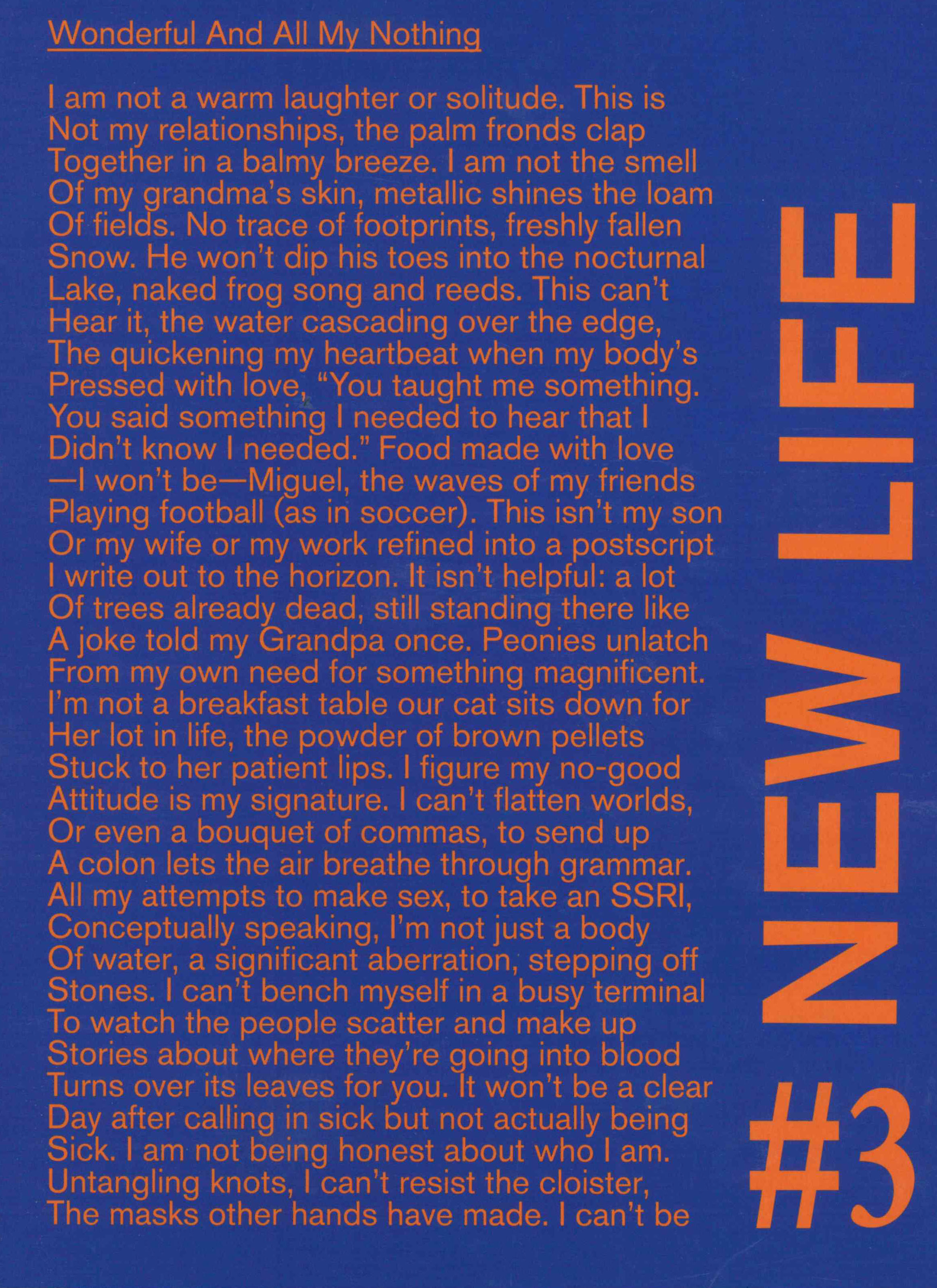 Wolfman New Life Quarterly: Issue 3