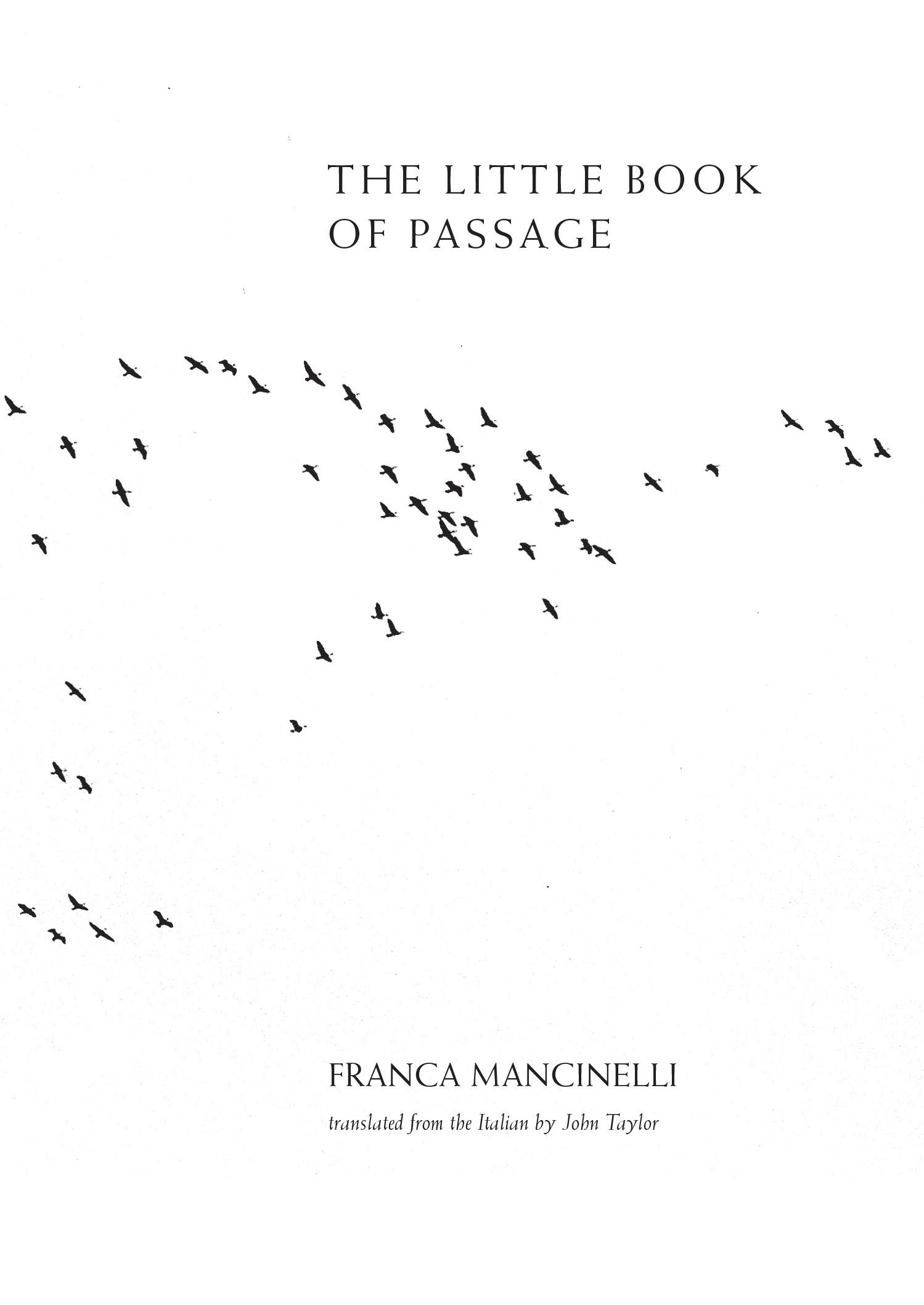 The Little Book of Passage