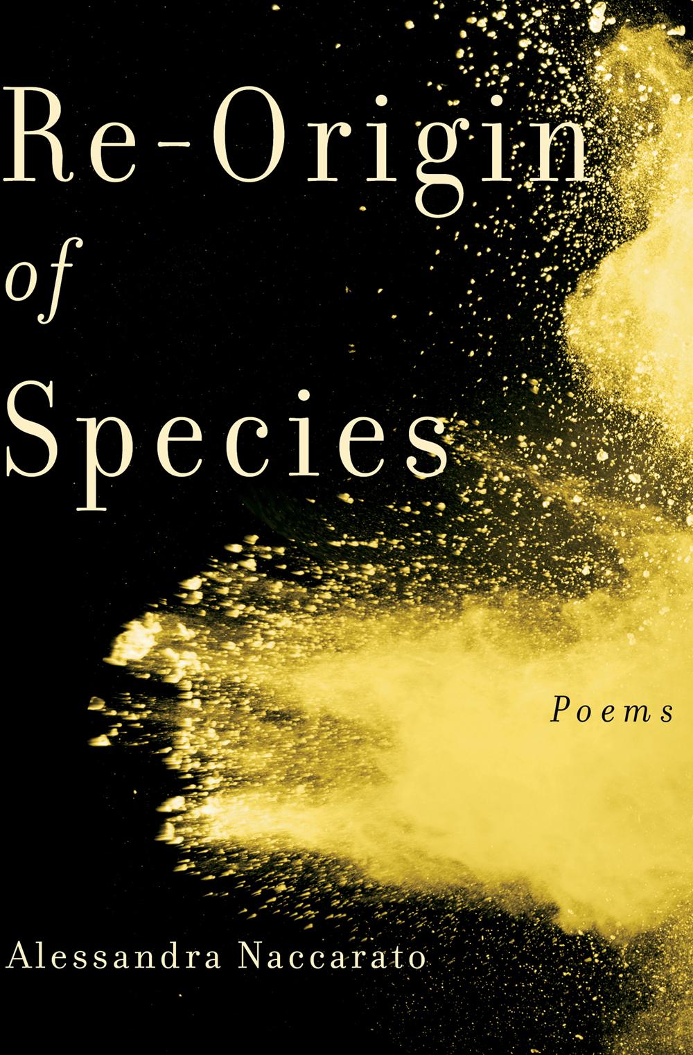 Re-Origin of Species (Book*hug, 2019) By Alessandra Naccarato