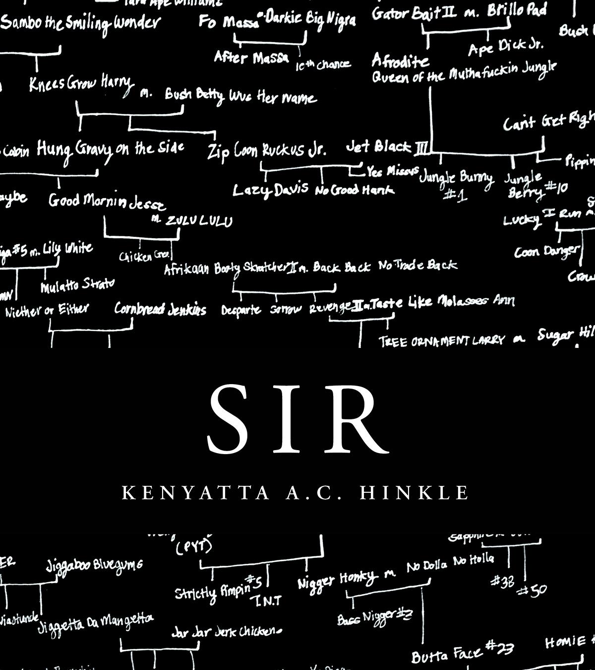 SIR (Litmus Press, 2019) By Kenyatta A.C. Hinkle