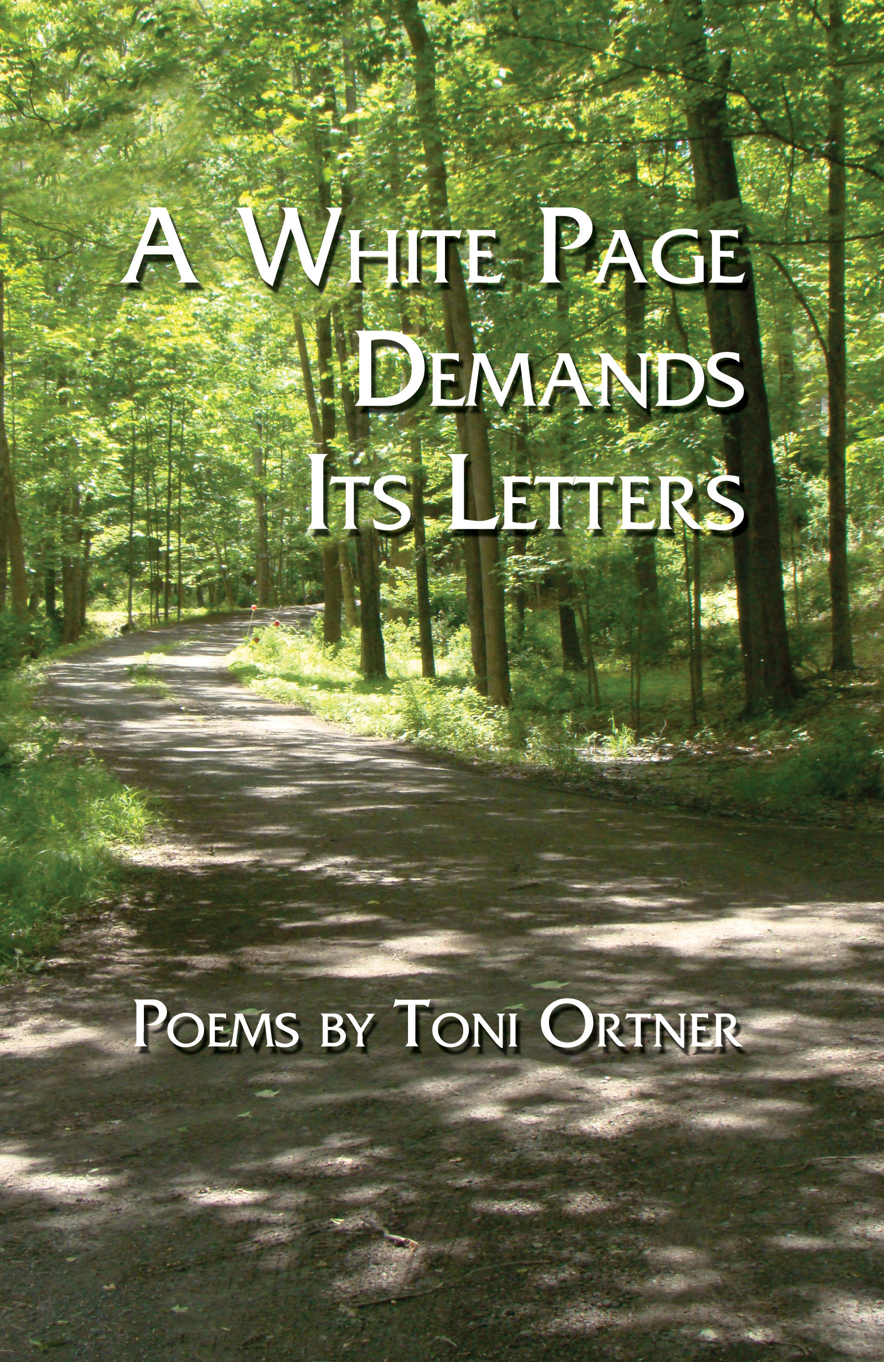 A White Page Demands Its Letters