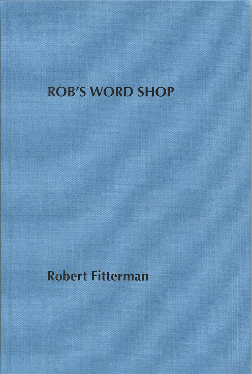 Rob's Word Shop