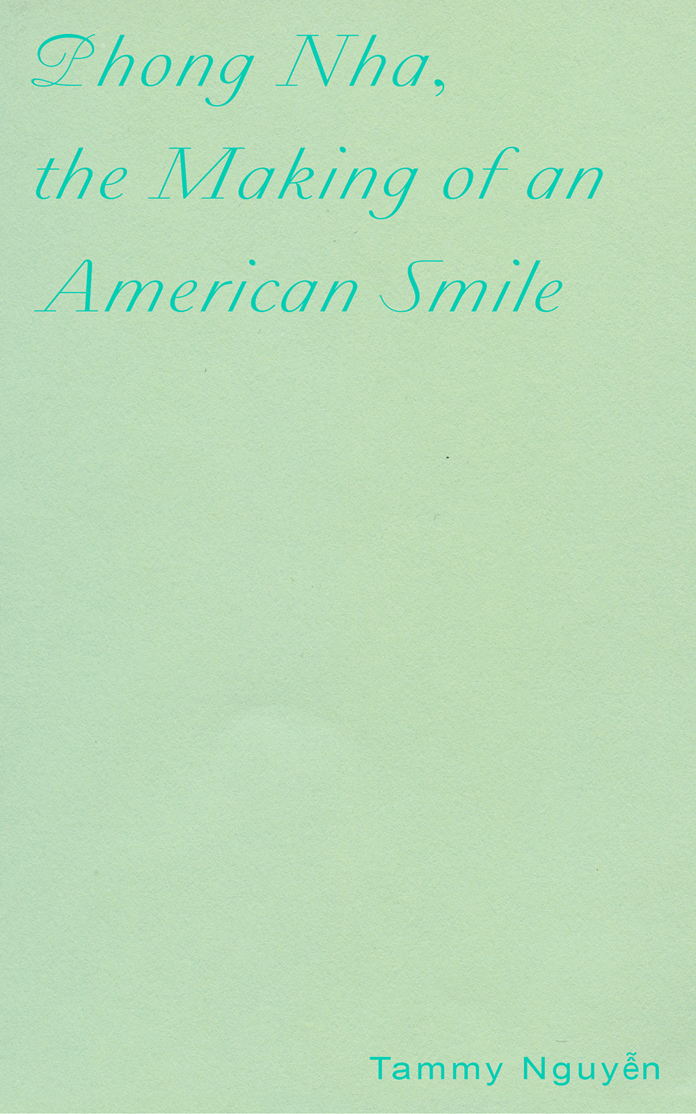 Phong Nha, the Making of an American Smile