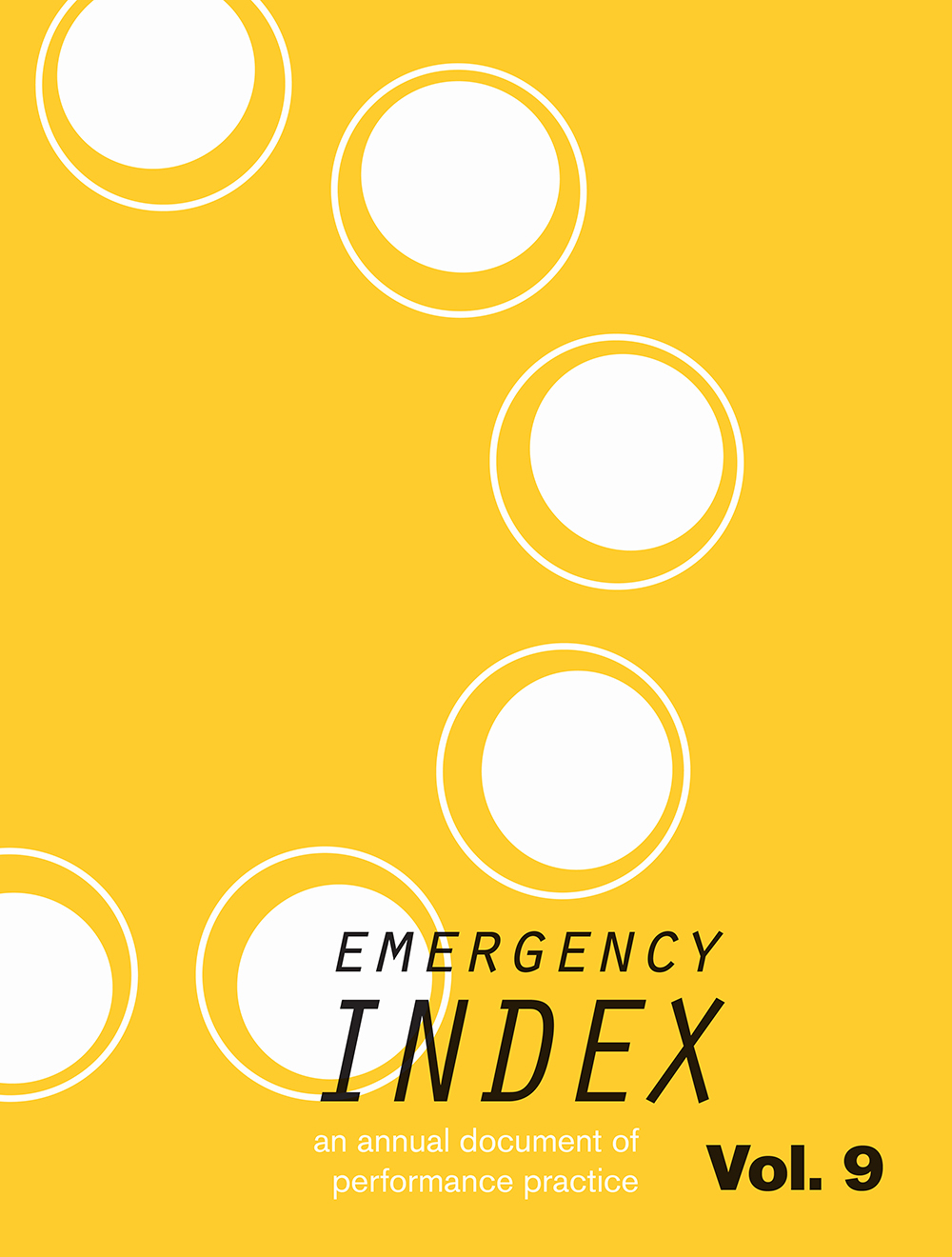 Emergency INDEX, Vol. 9