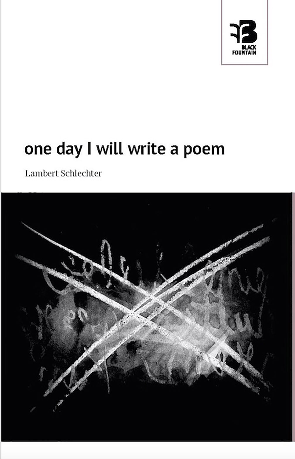 one day I will write a poem