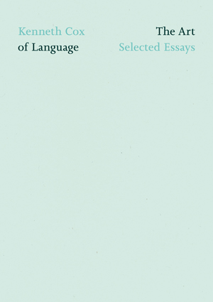 The Art of Language: Selected Essays
