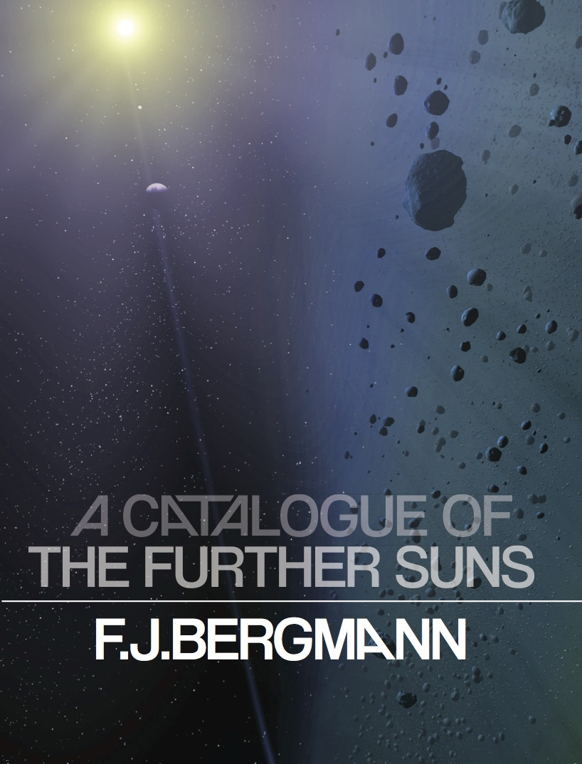 a catalogue of the further suns | f.j. bergmann | gold line press