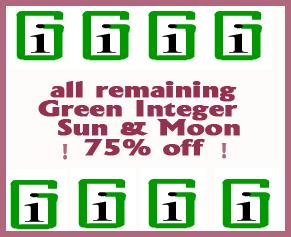 Green Integer Sale