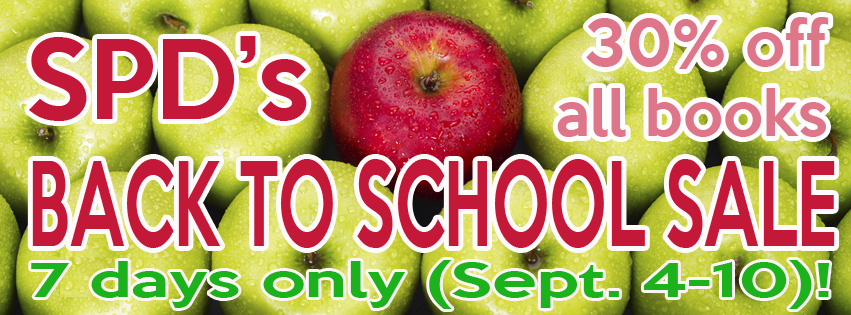 SPD Back to School Sale ONE WEEK ONLY 30% Off