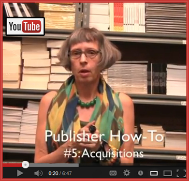 Publisher How-To #5: Acquisitions