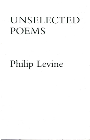 Unselected Poems