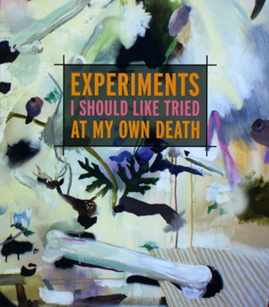 Experiments I Should Like Tried at My Own Death | Caryl Pagel | Factory Hollow Press