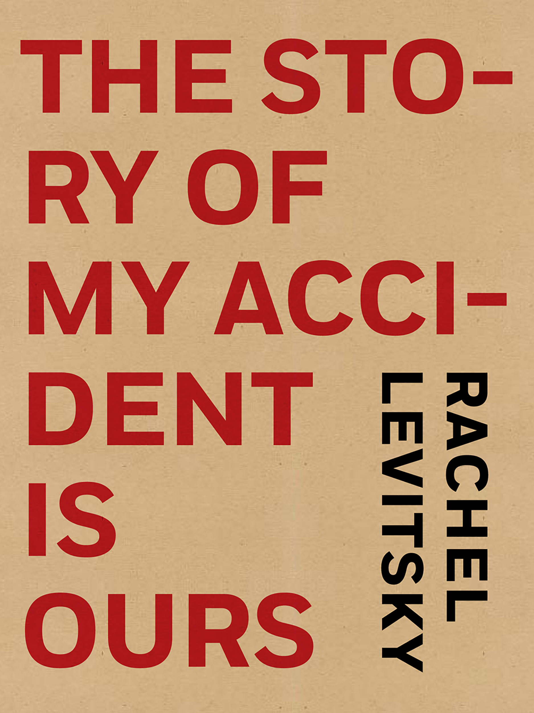The Story of My Accident Is Ours, Rachel Levitsky