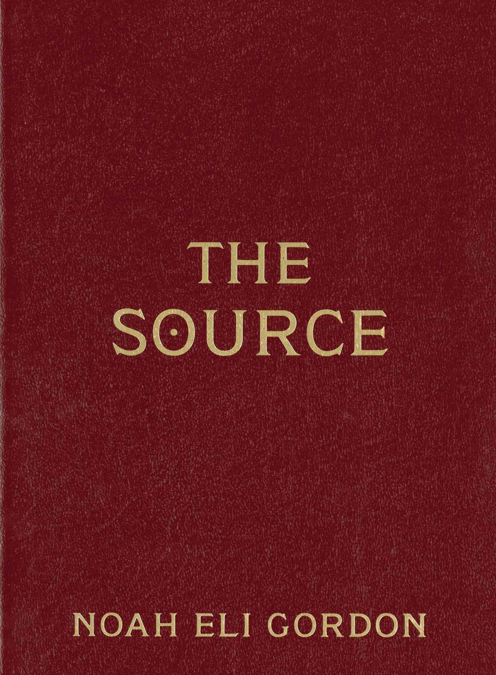 The Source| Noah Eli Gordon | Futurepoem Books