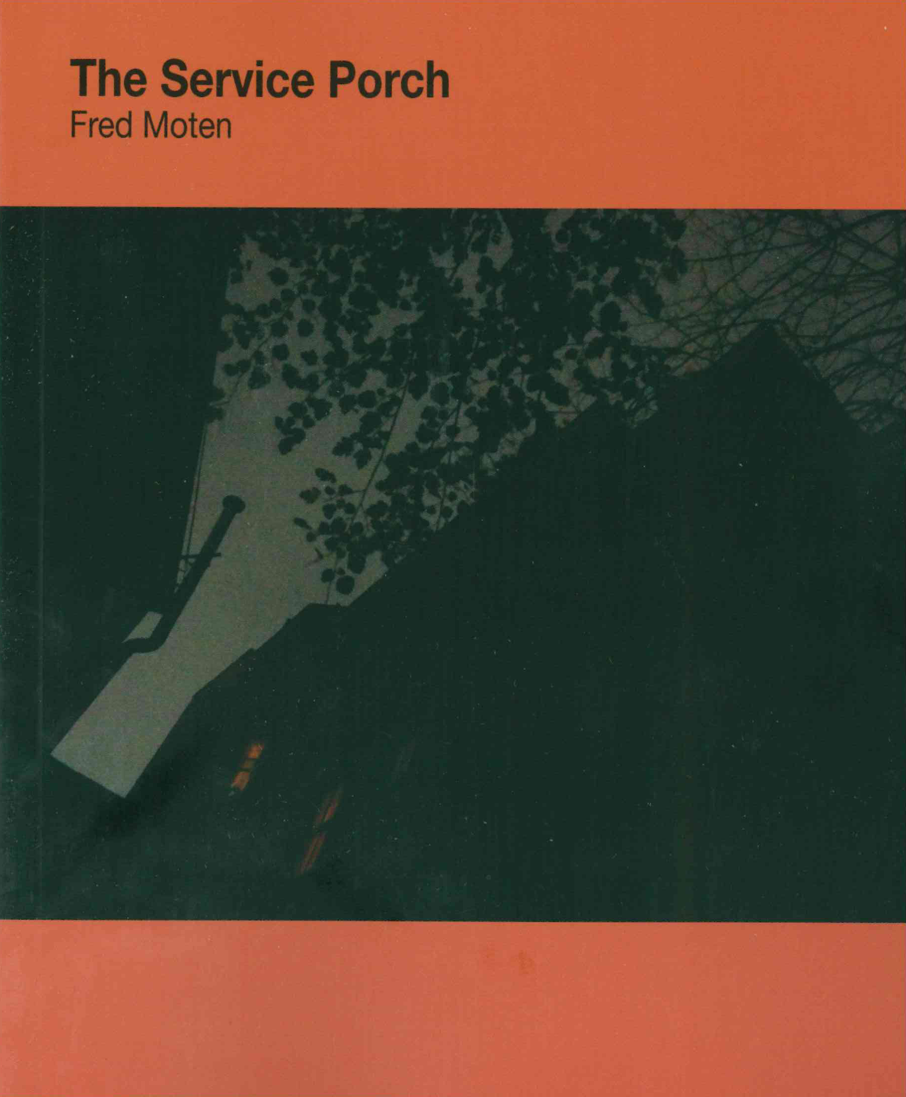 The Service Porch Fred Moten