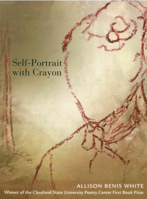 Self-Portrait with Crayon, Allison Benis White