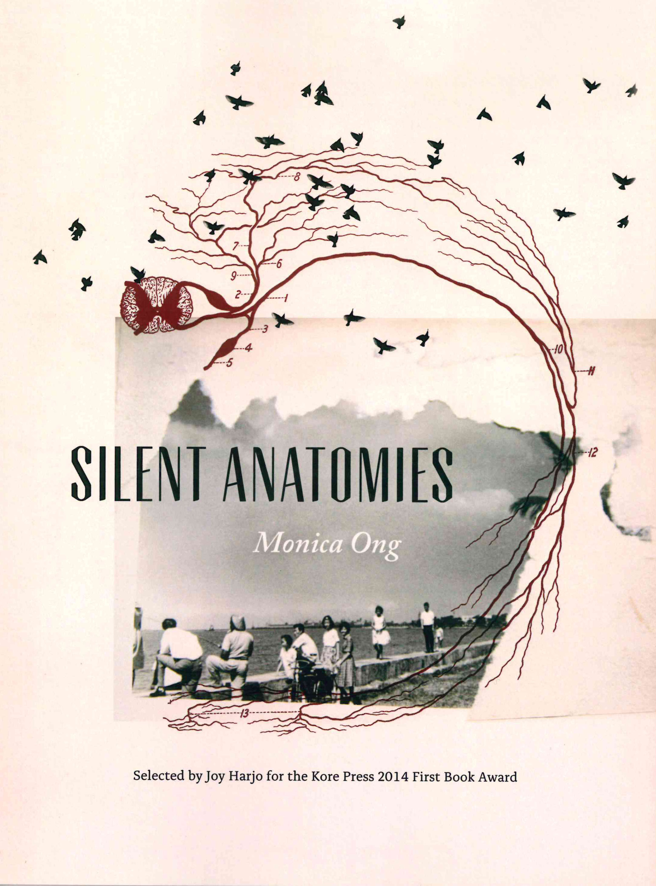 silent anatomies | monica ong | kore press