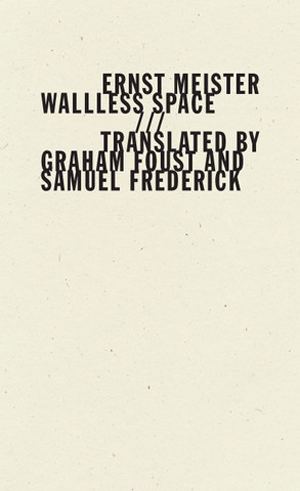 Wallless Space Ernst Meister