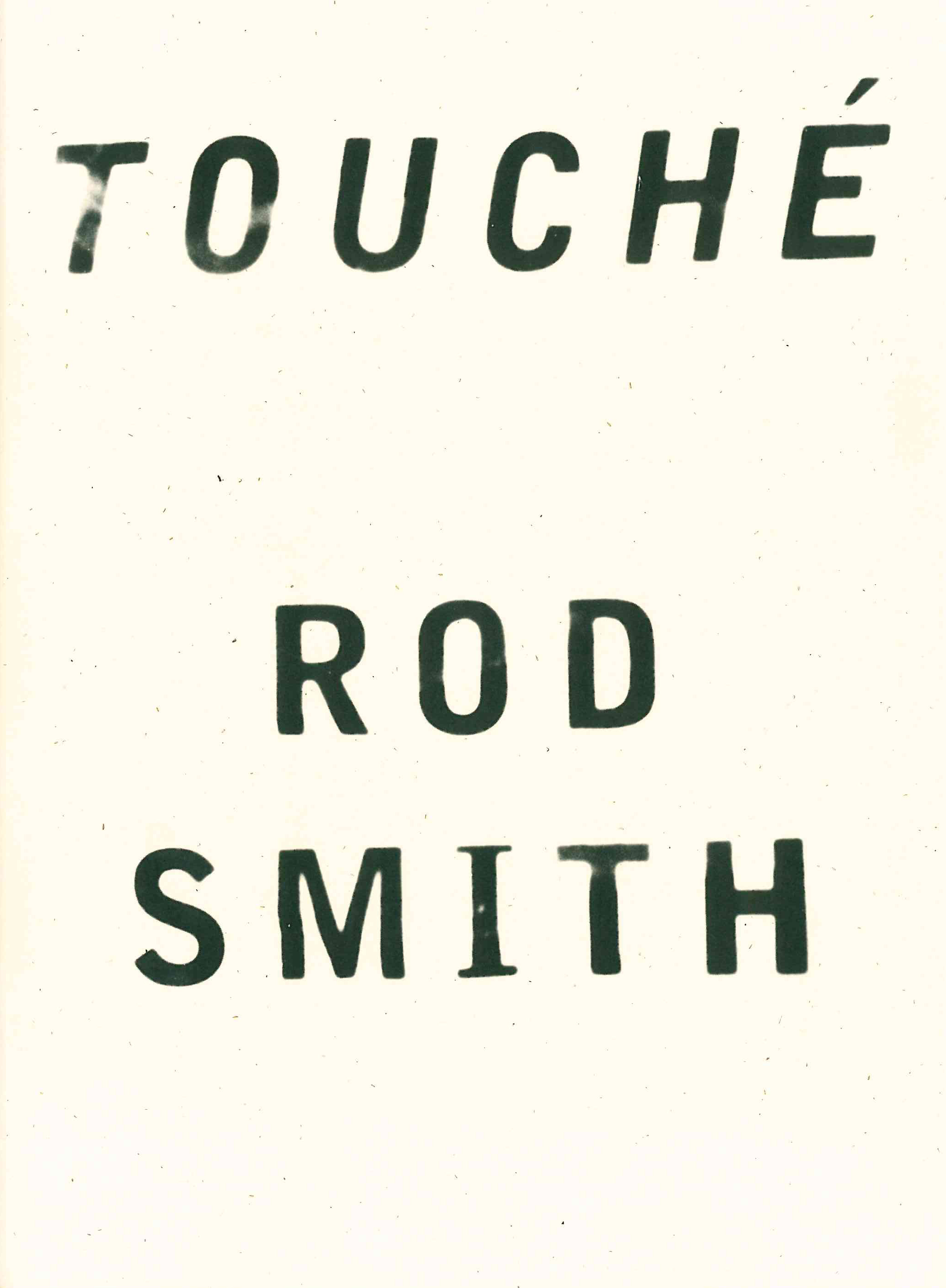 Touche Rod Smith